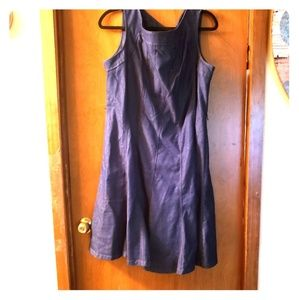 16W Sharagano denim dress